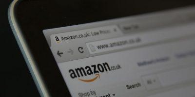 Esta es la página inicial de Amazon. Foto:Getty Images