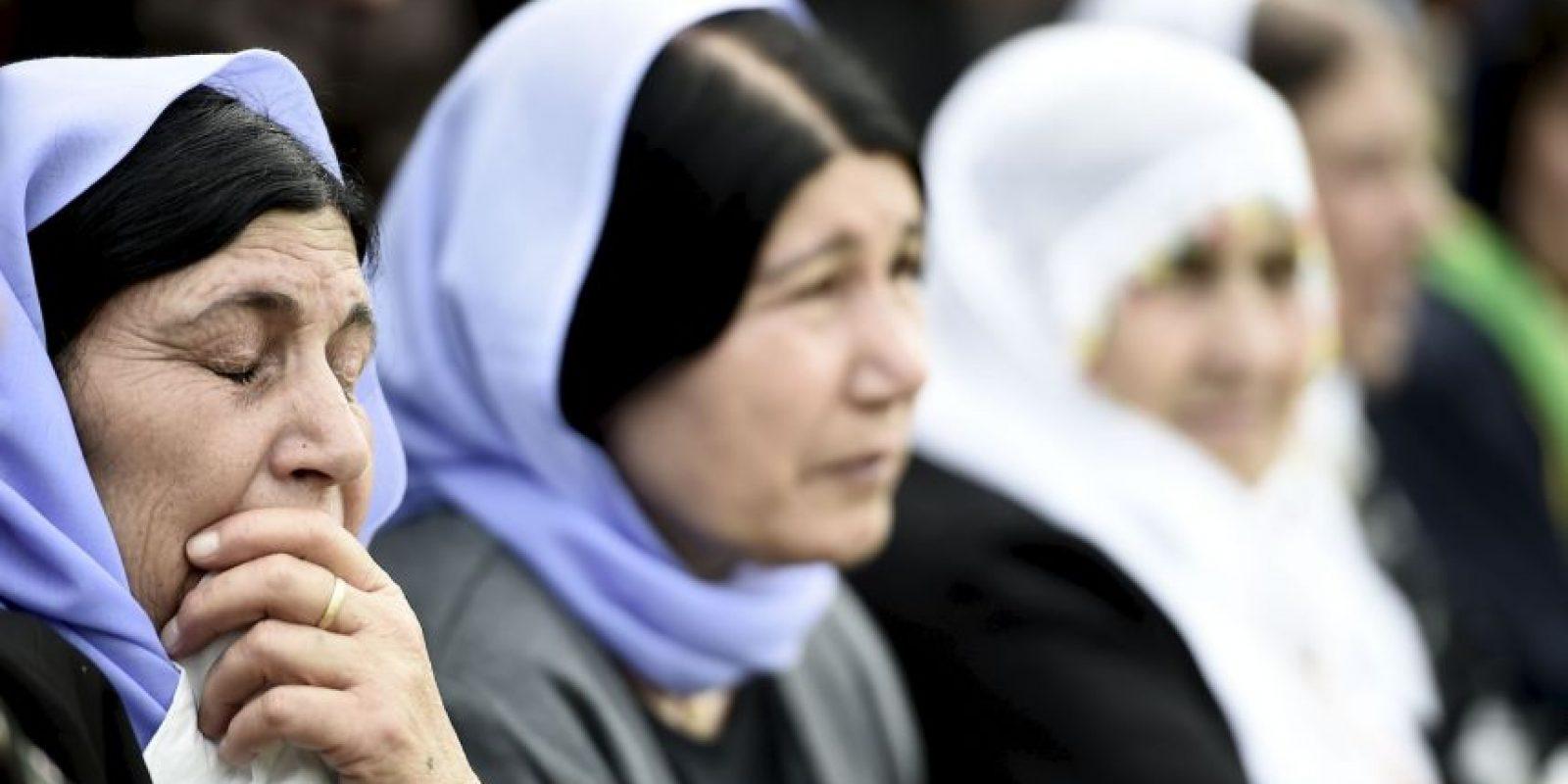 Dentro de las atrocidades a las que las obligan los terroristas es a cometer abortos. Foto:Getty Images