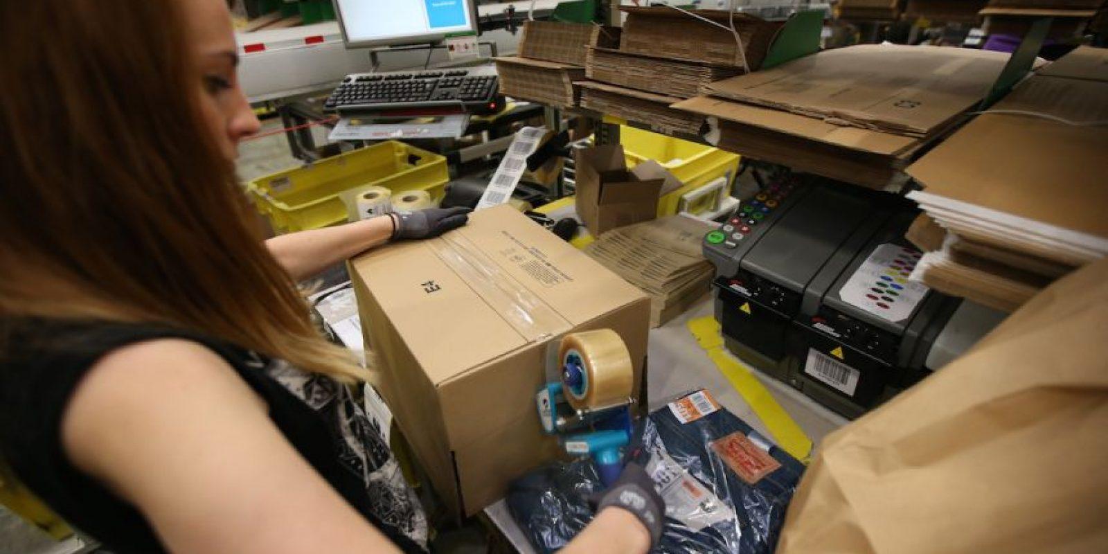 De esta forma se envuelven los productos. Foto:Getty Images