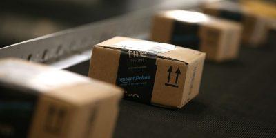 Estos son los paquetes de Amazon. Foto:Getty Images