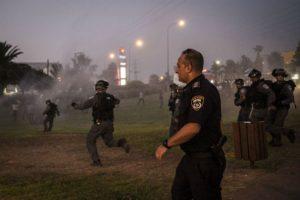 Hana Mahameed se encontraba cubriendo un enfrentamiento entre manifestantes palestinos y la Policía israelí. Foto:Getty Images