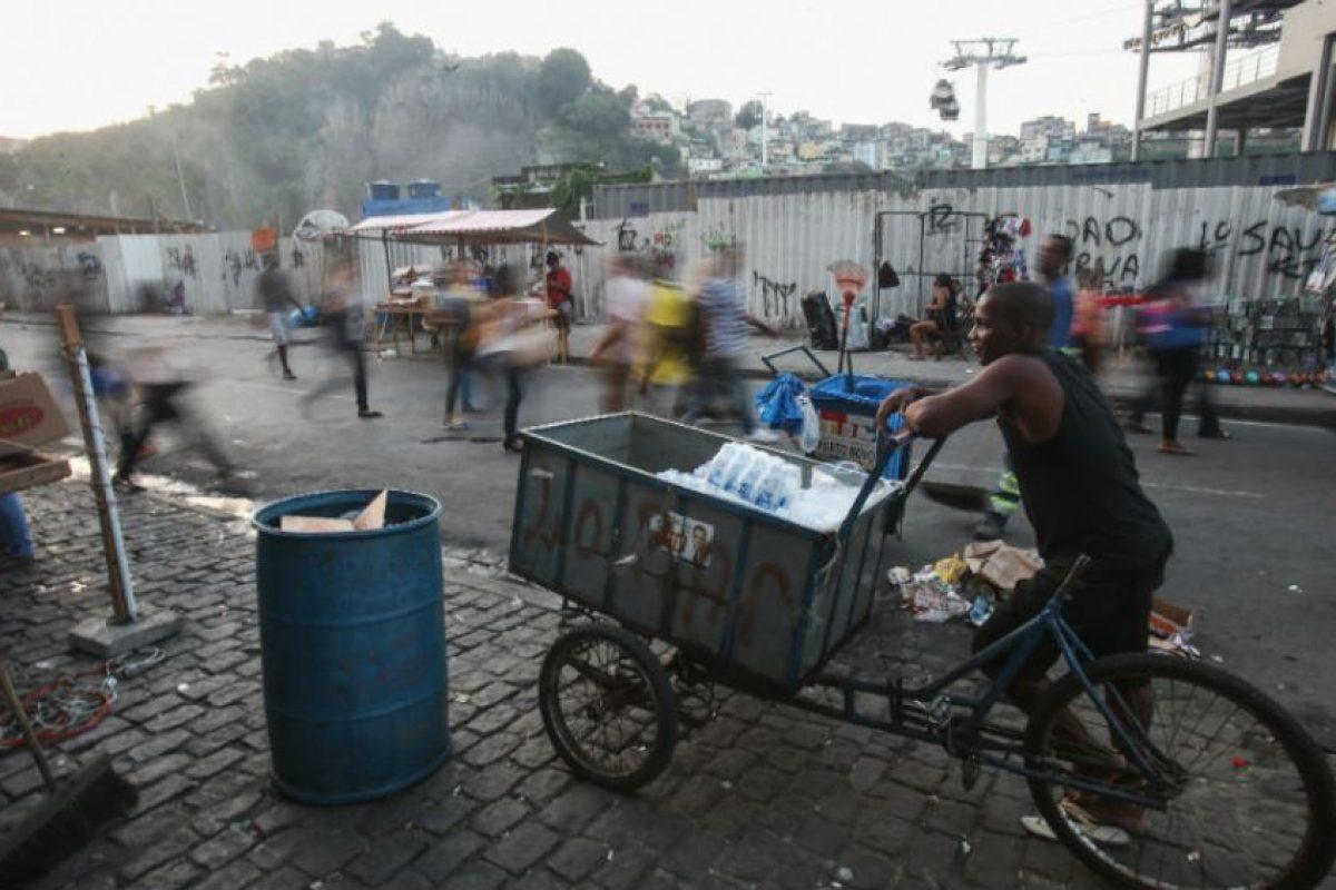 Las favelas son los barrios más peligrosos en Brasil Foto:Getty Images
