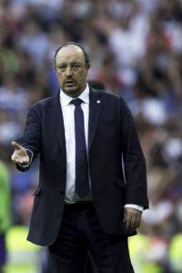 """Y que sus futbolistas deben jugar para """"el jugador que mete 60 goles y luego repartir a Bale, Benzema, James o Isco"""". Foto:Getty Images"""
