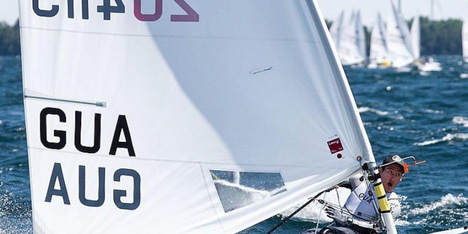 El velerista guatemalteco iniciará la competencia en Francia este martes. Foto:Publinews