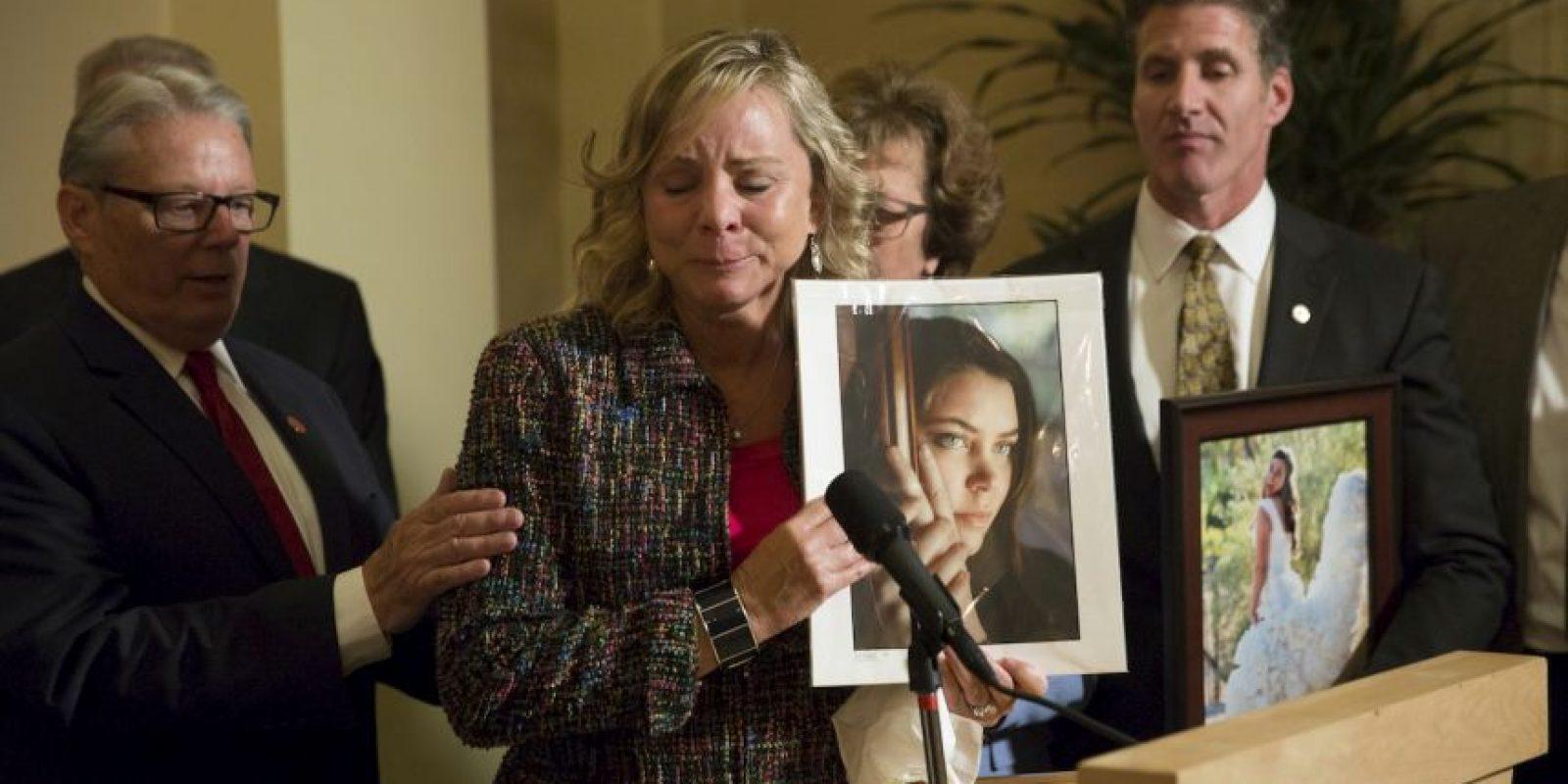 2. La madre también se mostró satisfecha. Foto:AP