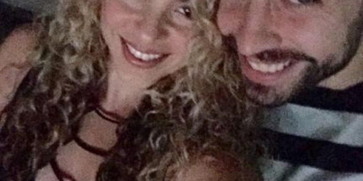 Gerrard Piqué y Shakira vibraron en concierto de U2