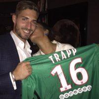 Esta imagen fue posteada por Kevin Trapp y Rihanna Foto:Vía instagram.com/badgirl