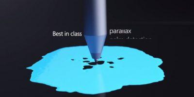 El Surface Pen tiene 1024 niveles de presión Foto:Microsoft