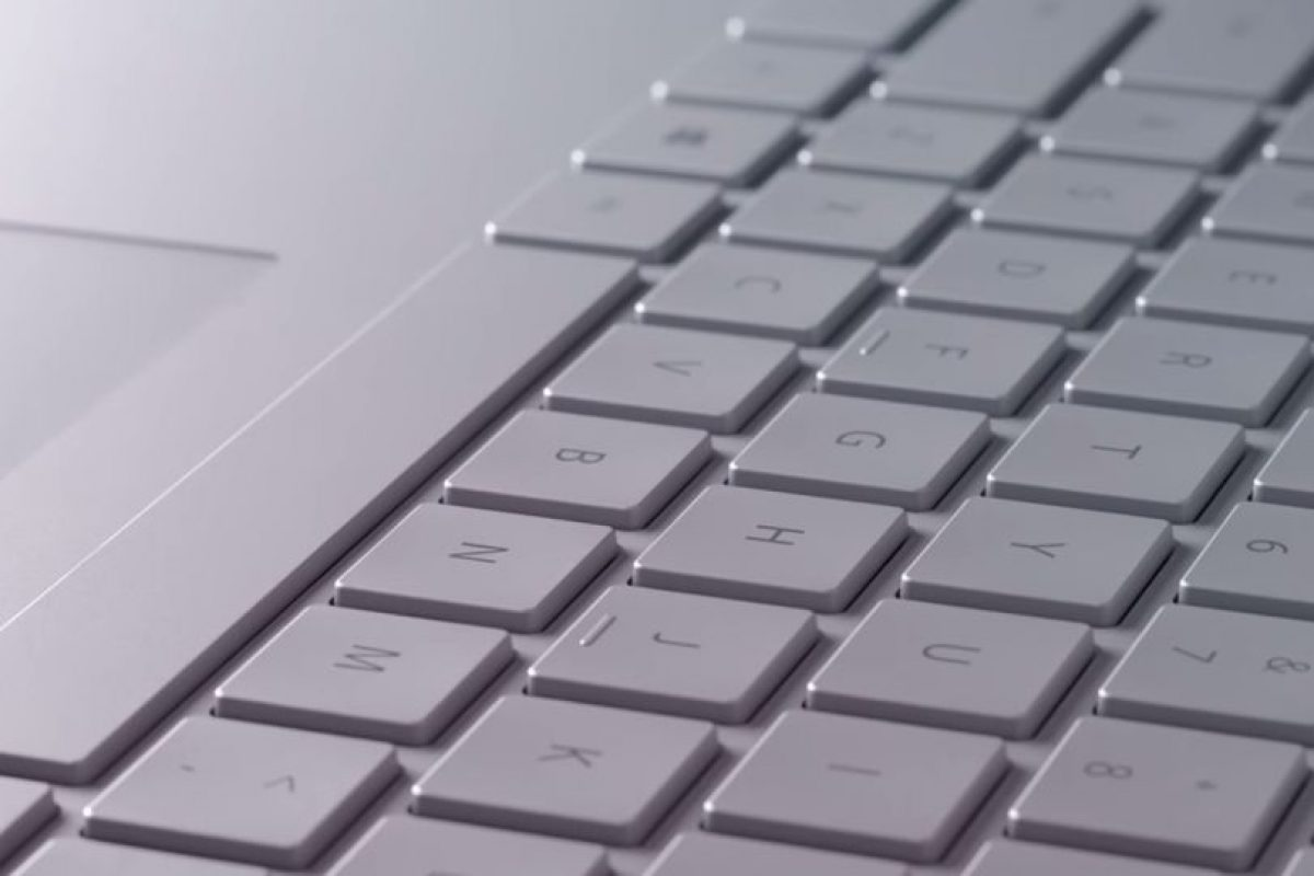 El teclado se puede retirar con un solo movimiento. Foto:Microsoft