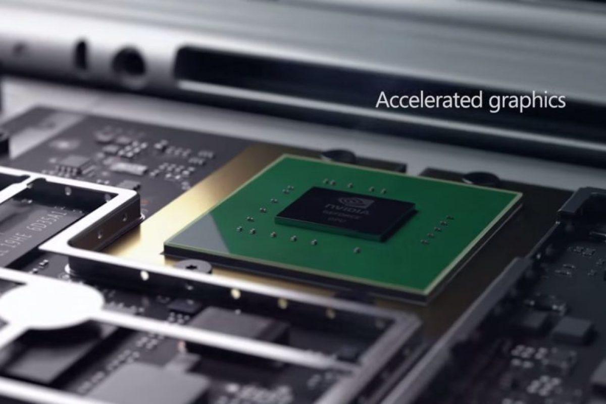 Contiene los procesadores de sexta generación Intel Core i5. Foto:Microsoft