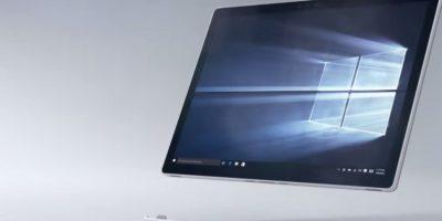 La pantalla es táctil. Foto:Microsoft
