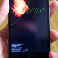 Inferno es una app de reparación que hace una serie de pruebas al software y hardware del móvil para confirmar que todo marche bien Foto:Apple