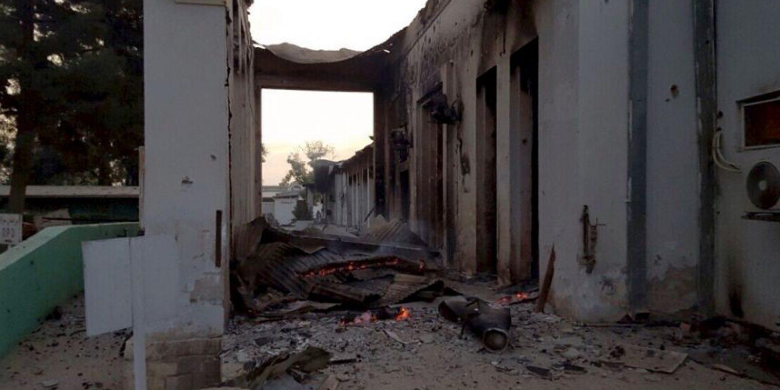 Durante un conflicto entre entre fuerzas afganas y los talibanes. Foto:AFP