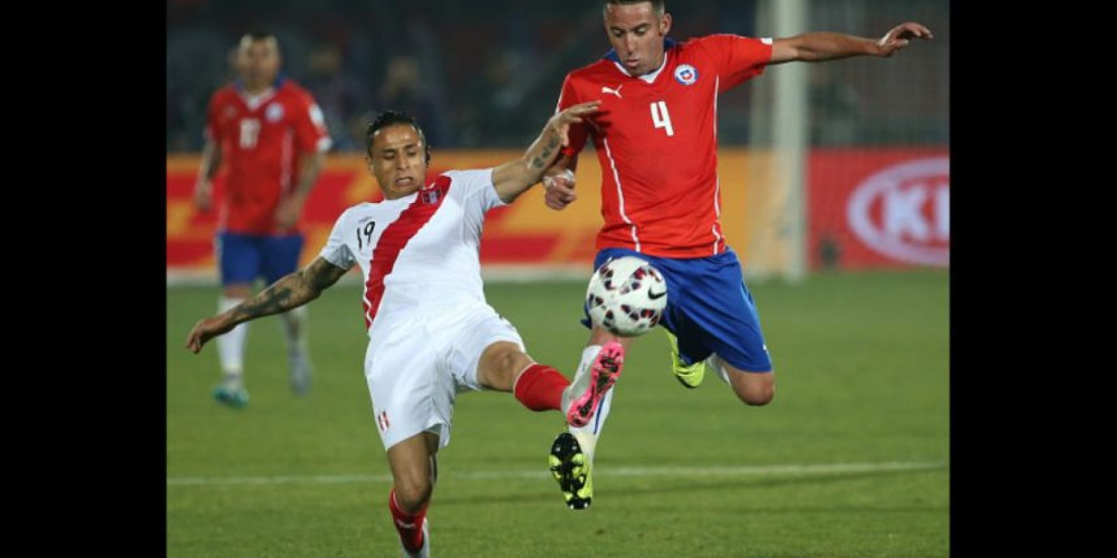 2. Perú vs. Chile en Lima / Jornada 2 / 13 de octubre Foto:Getty Images