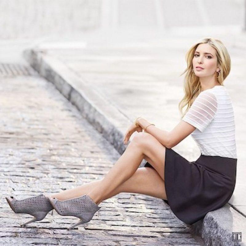 También es modelo Foto:Instagram.com/ivankatrump