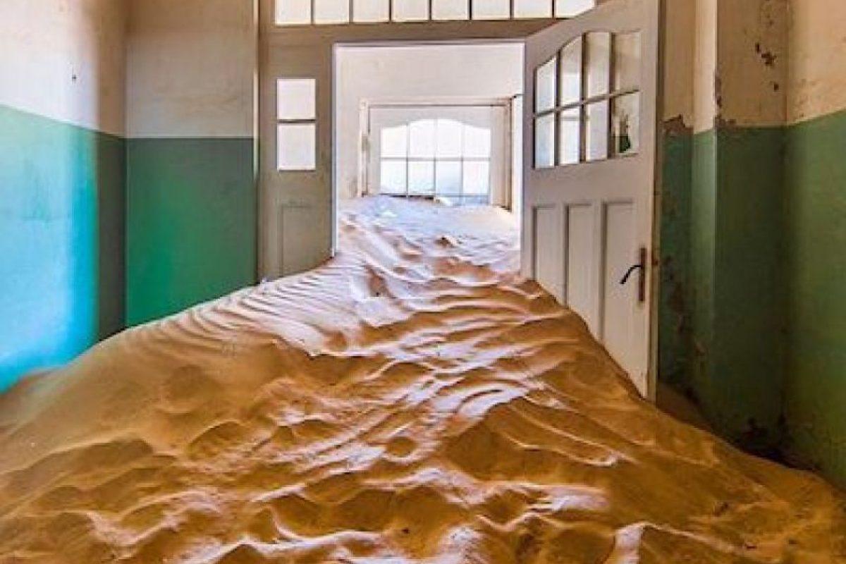 Las casas fueron abandonadas Foto:Instagram.com