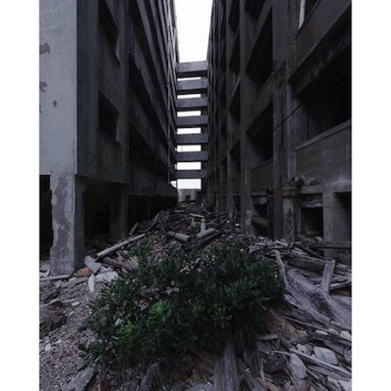 También se convirtió en fantasma al acabarse la actividad industrial Foto:Instagram.com