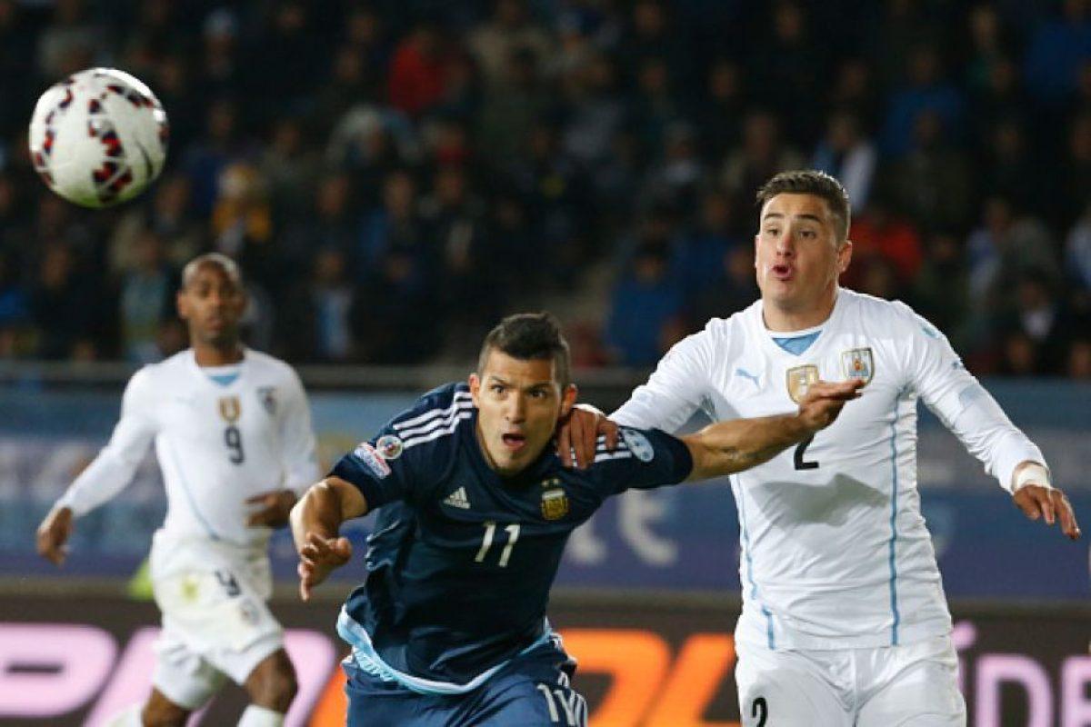 16. Uruguay vs. Argentina en Montevideo / Jornada15 / septiembre de 2017 Foto:Getty Images