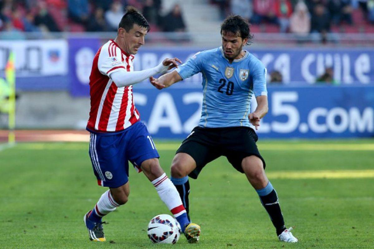 17. Paraguay vs. Uruguay en Asunción / Jornada 16 / septiembre de 2017 Foto:Getty Images