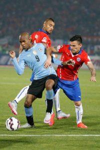 4. Uruguay vs. Chile en Montevideo / Jornada 4 / noviembre de 2015 Foto:Getty Images