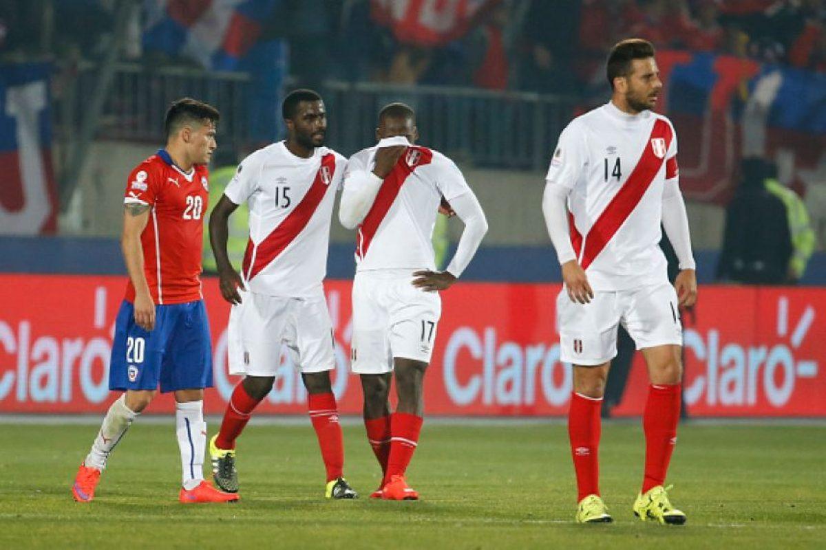 SEGUNDA VUELTA: 10. Chile vs. Perú en Santiago / Jornada 9 / octubre de 2016 Foto:Getty Images