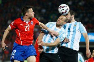 6. Chile vs. Argentina en Santiago / Jornada 5 / marzo de 2016 Foto:Getty Images