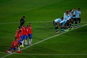 14. Argentina vs. Chile en sede por definir / Jornada 13 / junio de 2017 Foto:Getty Images