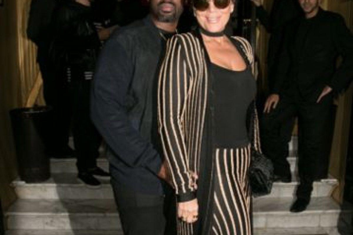 Y meses después, Kris lo eligió para salir a cenar con su novio, el productor Corey Gamble Foto:The Grosby Group