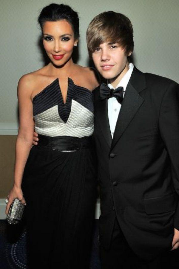En el evento se encontró con Justin Bieber. Foto:Getty Images