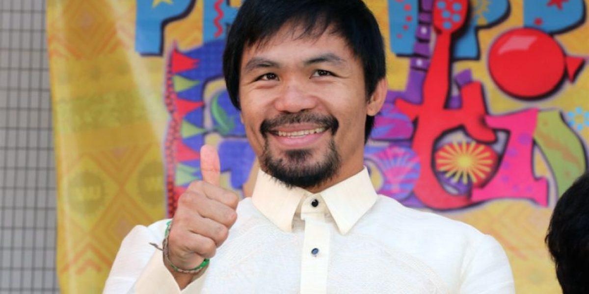 Manny Pacquiao se postula para un puesto alto en el gobierno de Filipinas