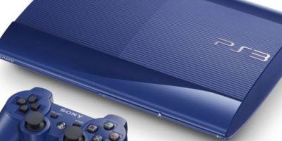 PlayStation 3 Slim azul. Foto: Sony