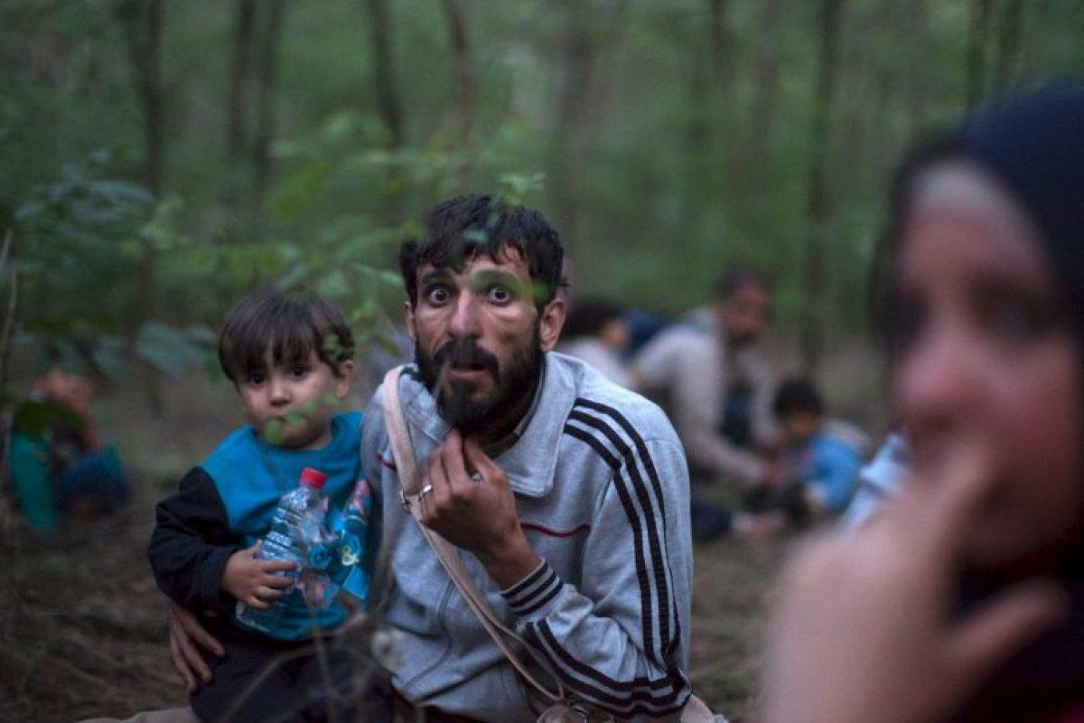 Y España con dos mil migrantes que han llegado; entre otros países. Foto:Getty Images
