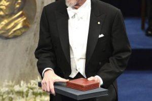 Martin Karplus durante la premiación en 2013. Foto:Getty Images