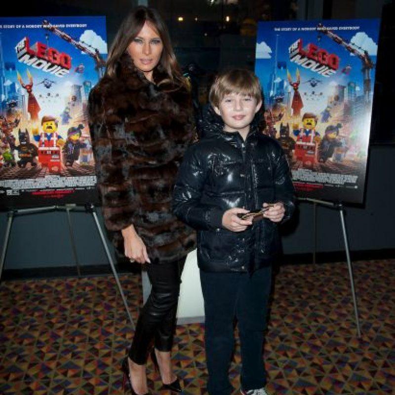Es madre de Barron William Trump, el hijo más joven del magnate Foto:Getty Images