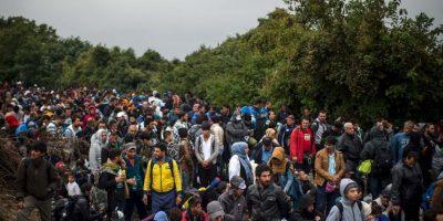 """Cuenta con un campamento en Atenas, Grecia para los migrantes, reseñó """"CNN"""". Foto:Getty Images"""