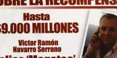 """Él era el narcotraficante Víctor Ramón Serrano, alias """"Megateo"""", narcotraficante colombiano al que las autoridades dieron de baja hace poco. Foto:vía Policía Nacional de Colombia"""
