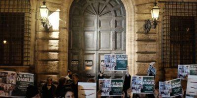 Hubo protestas. Foto:vía AFP