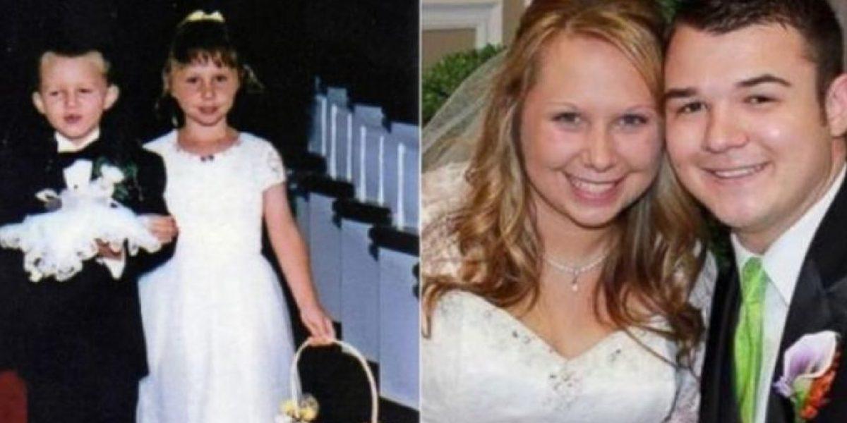 Niños fueron pajes en una boda y 17 años después se casaron