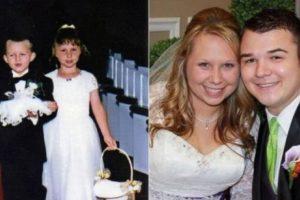 Adrián y Brooke antes y después. Foto:Vía Facebook/BrookeFranklin
