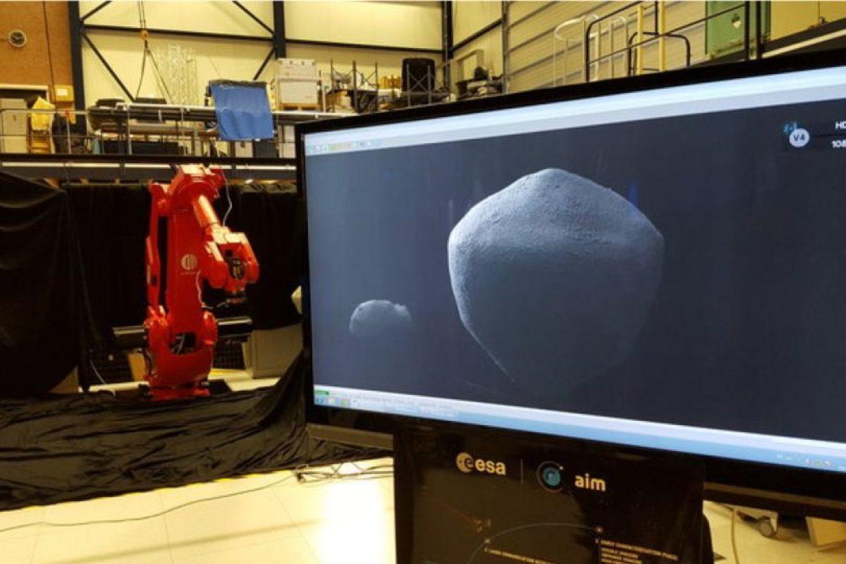 La ESA ya comenzó hacer pruebas sobre el equipo que se utilizará. Foto:Vía esa.int