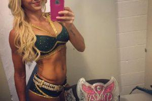La actual campeona de las Divas se llama Ashley Fliehr. Foto:Vía instagram.com/charlottewwe