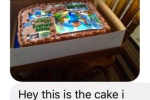 En julio, la persona volvió a equivocarse. Le mostró el pastel para su sobrina que le costó 35 dólares Foto:vía Imgur