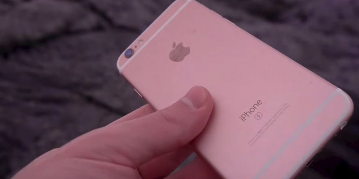 Video: Esto es lo que sucede cuando ponen un iPhone 6s en lava