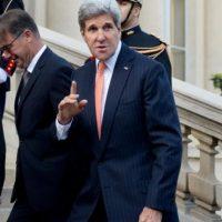 El Secretario de Estado de Estados Unidos ha desempeñado un papel fundamental en el establecimiento de un acuerdo nuclear con Irán y en el descongelamiento de las relaciones diplomáticas entre Estados Unidos y Cuba Foto:AFP