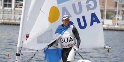 El guatemalteco mejoró su desempeño en la segunda jornada de la competencia en Francia. Foto:Publinews