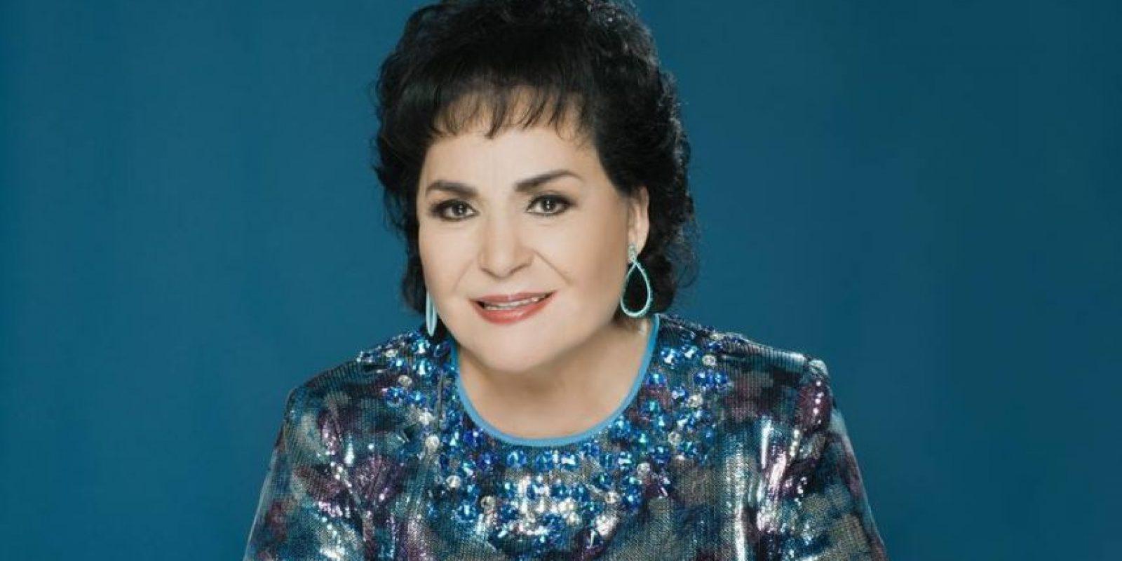Carmen Salinas es una reputada actriz de cine, teatro y televisión mexicana. Tiene 81 años. Foto:vía Facebook/Carmen Salinas Oficial