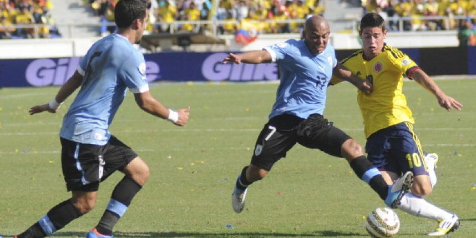 Uruguay vs. Colombia en el Estadio Centenario de Montevideo. Foto: Getty Images