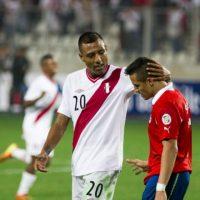 Perú vs. Chile en el Estadio Nacional de Lima. Foto:Getty Images