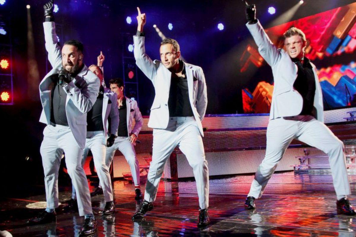 La agrupación está conformada por cinco hombres: Foto:Getty Images
