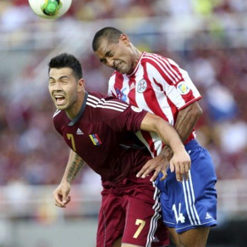 Venezuela vs. Paraguay en Camachay, Puerto Ordaz. Foto:Getty Images
